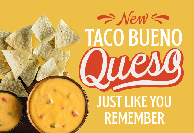 All Great Meals Start with Queso