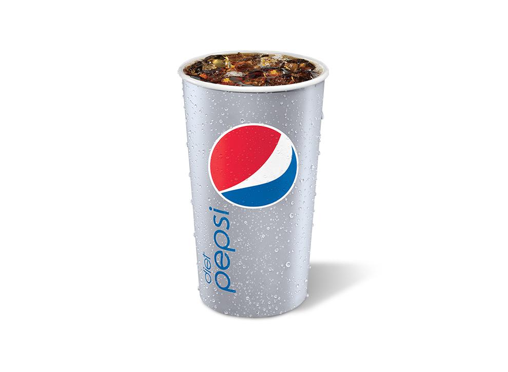 Diet Pepsi Taco Bueno