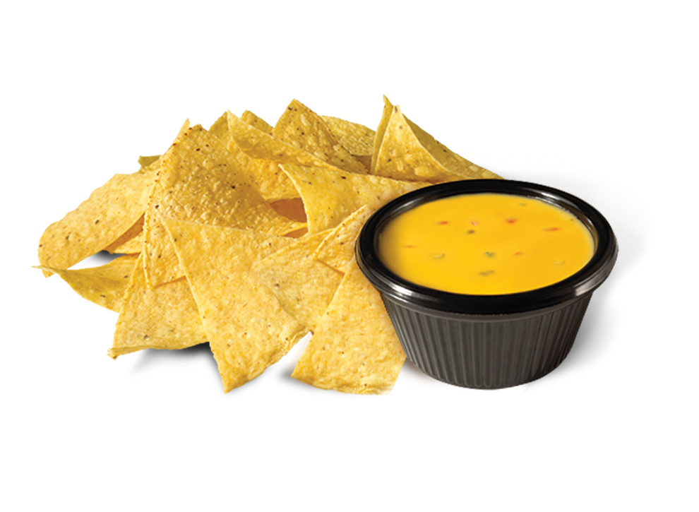 Chips with Queso