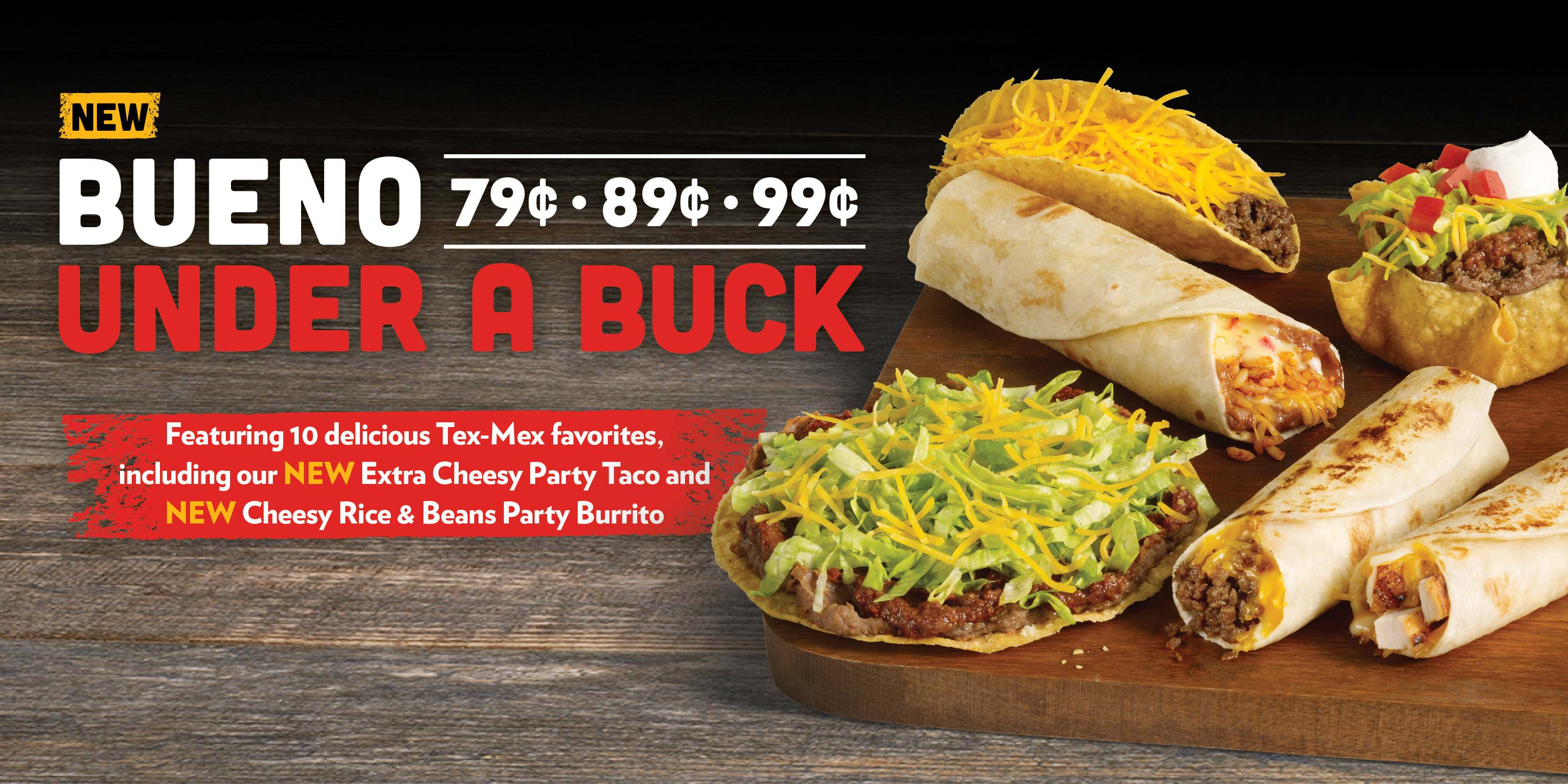 Taco Bueno Taco Bueno Authentic Tacos Burritos Platters More